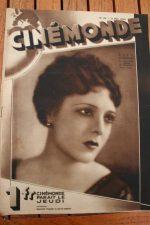 Magazine 1929 Suzy Vernon Lili Damita Don Alvarado