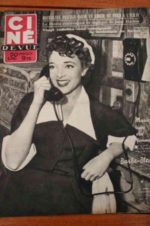 Micheline Presle Liz Taylor Jean Harlow Marilyn Monroe