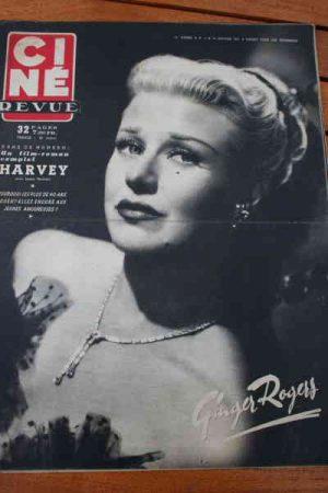 1951 Ginger Rogers Joan Crawford James Stewart Mc Guire