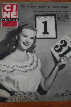 1951 Anne Francis 3 Stooges Joan Crawford Frank Sinatra