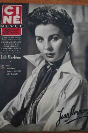 1951 Jean Simmons The Day The Earth Stood Still Mag !