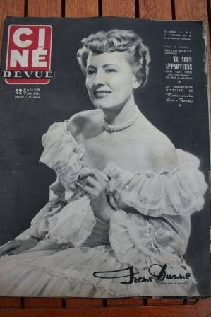 1951 Irene Dunne Steve Cochran Ann Blyth Lucille Ball