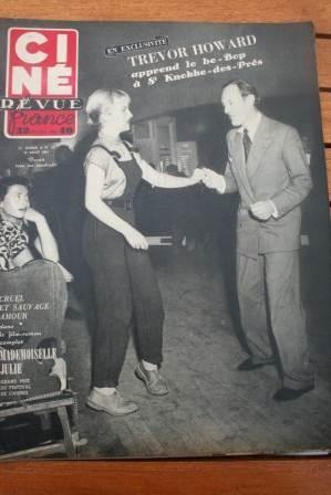 51 Trevor Howard Walter Pidgeon Marlene Dietrich Bjork