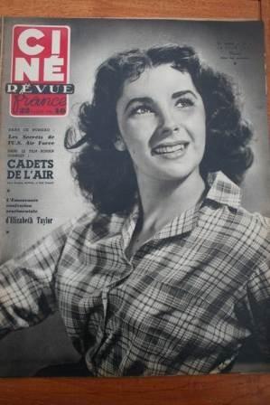 1951 Liz Taylor John Wayne Stephen McNally Gail Russell