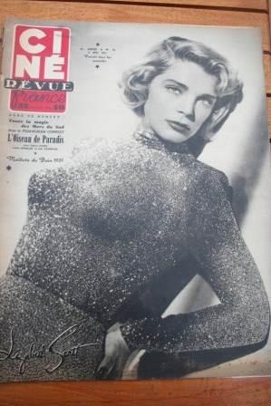 1951 Lizabeth Scott Lex Barker Debra Paget Anna Magnani