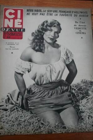 1951 Jean Marais June Allyson John Wayne Rio Grande