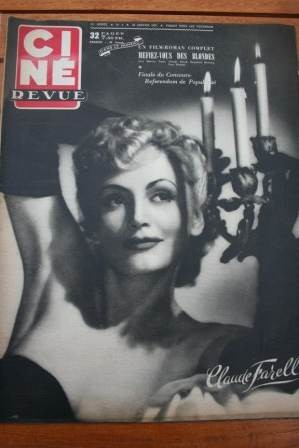 Claude Farell Joan Evans Yvonne De Carlo Susan Hayward