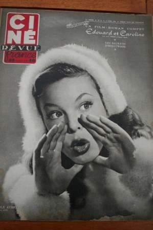 1951 Cecile Aubry Maria Felix Jane Wyman Dana Andrews