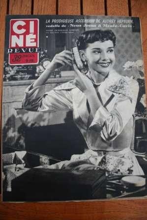 51 Audrey Hepburn Bette Davis Ray Ventura Susan Peters
