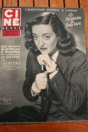 1951 Bette Davis Doris Day Pier Angeli Robert Taylor