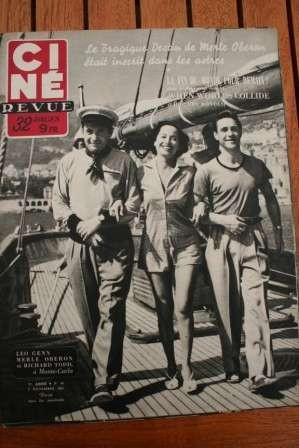 1951 Mag When Worlds Collide Merle Oberon Pier Angeli