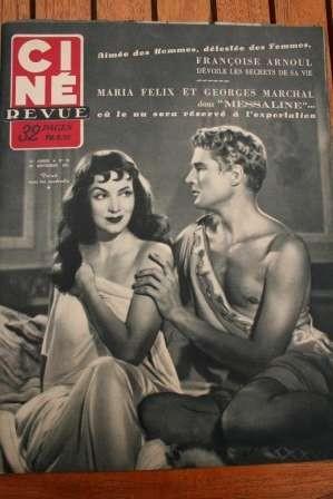 1951 Maria Felix Errol Flynn Laurel And Hardy The Thing