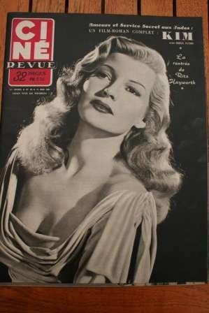 Rita Hayworth Errol Flynn Barbara Bates Susan Hayward