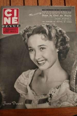 Jane Powell Burt Lancaster Farley Granger Dana Andrews