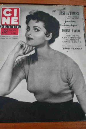 1952 Ursula Thiess Miss Universe Ingrid Bergman Gabor