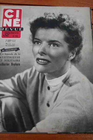 1952 Katharine Hepburn James Mason Douglas Fairbanks Jr