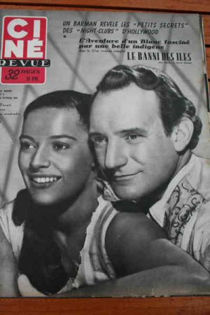 1952 Trevor Howard Kerima Ava Gardner Dorothy Mc Guire