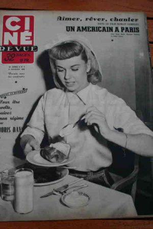 1952 Doris Day Florelle Gene Kelly Leslie Caron Aumont