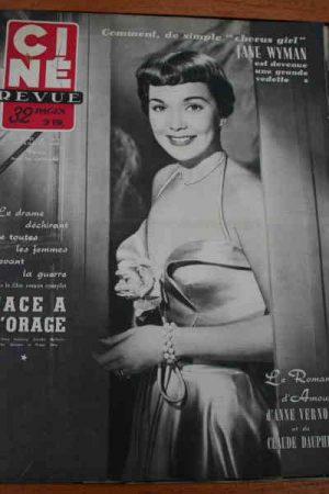 Jane Wyman Gerard Philipe Ann Miller Dorothy Mc Guire