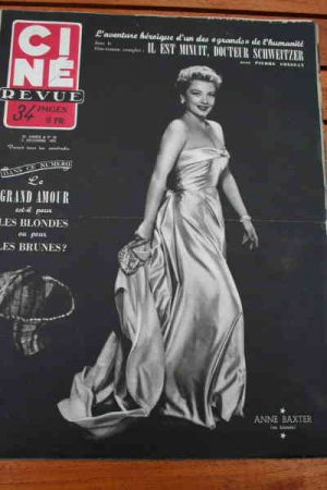 1952 Anne Baxter Rita Hayworth Yvonne De Carlo Fresnay