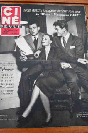 1952 Morgan Joan Crawford Ronald Colman Marlon Brando