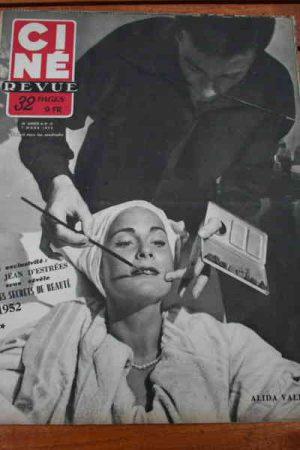 1952 Alida Valli Ingrid Bergman Line Renaud Arletty