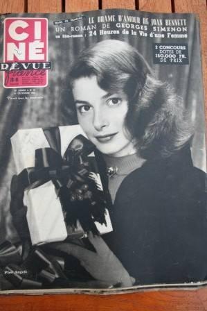 1952 Pier Angeli Walter Wanger Doris Day Merle Oberon