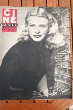 1952 Ginger Rogers Gene Kelly Fernandel Debbie Reynolds