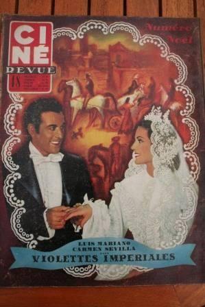 1952 Luis Mariano Carmen Sevilla Janet Leigh Ann Blyth