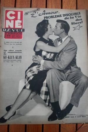 1952 Jeanne Crain Scott Brady Suzy Delair Ku Klux Klan