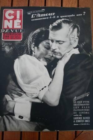 1952 Jennifer Jones Audrey Hepburn Claude Rains Greco