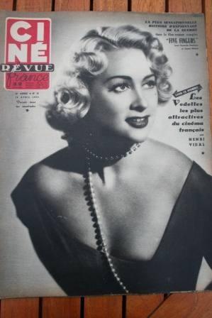 1952 Danielle Darrieux Errol Flynn Miss Universe
