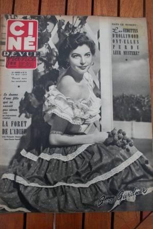 1952 Ava Gardner Rita Hayworth William Holden Guetary