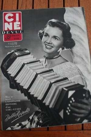 52 Debbie Reynolds Marta Toren Gene Kelly Leslie Caron