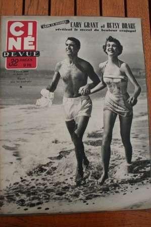 1952 Cary Grant Lana Turner Gerard Philipe Lollobrigida