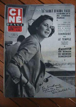 53 Valli Olivia De Havilland Alan Ladd Brigitte Fossey