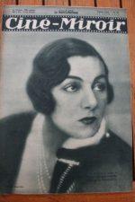 Magazine 1931 Gaby Morlay Gina Manes Daniel Mendaille Ivan Petrovich