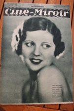 Magazine 1931 Meg Lemmonier Cyril McLaglen Benita Hume Annabella Muratore