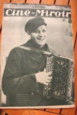 Magazine 1931 Albert Prejean Greta Garbo Lewis Stone Harry Liedtke Charles Vanel