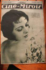 Magazine 1931 Suzy Vernon Kay Johnson Jeanette MacDonald Jose Mojica