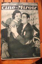 Magazine 1931 Henri Garat Norma Shearer Chester Morris Max Dearly