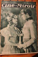 Magazine 1931 Jean Weber Simone Vaudry Jackie Coogan Nadia Sibirskaia
