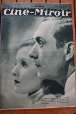 Magazine 1931 Lilian Harvey Andre Roanne Emma Romano Harry Baur Mady Berry