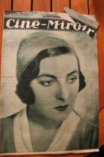Magazine 1931 Gaby Morlay Alice Cocea Florelle Buster Keaton Phillips Holmes