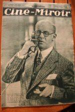 Magazine 1931 Nicolas Rimsky Raimu Pierre Fresnay Marius Marcel Pagnol