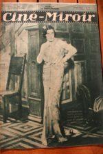 Magazine 1931 Jane Marnac Jean Gabin Paris-Beguin Annabella Tania Fedor