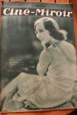 Magazine 1931 Madeleine Renaud Clara Bow Victor Boucher Dolly Davis