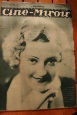 Magazine 1931 Marie Glory Janet Gaynor Charles Farrell Jean Gabin Fay Wray