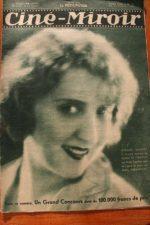 Magazine 1931 Simone Vaudry Michel Simon Madeleine Renaud Jean de la Lune
