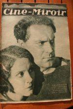 Magazine 1931 Renee Heribel Gustave Diessl Jules Berry Marcel Pagnol Paul Amiot